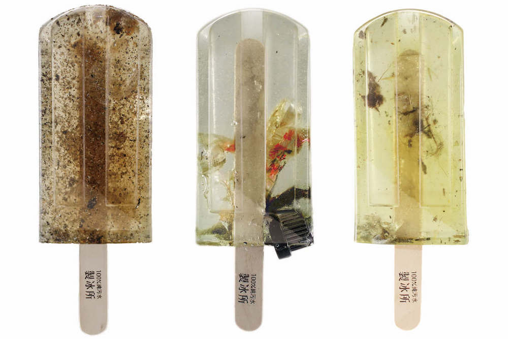 Polluted Water Popsicles Raise Awareness Of Polluted Air And Water
