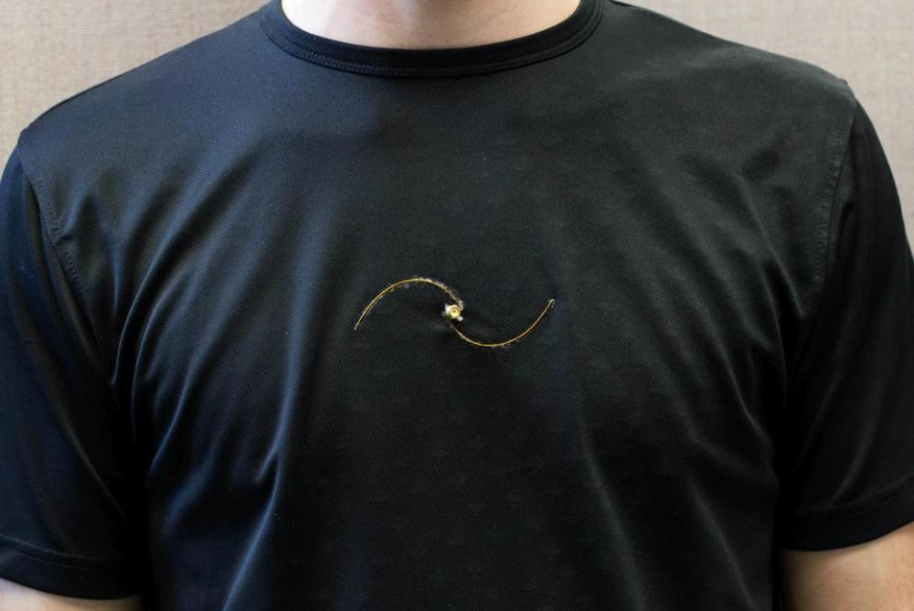 Smart T-Shirt Monitors The Wearer's Respiratory Rate