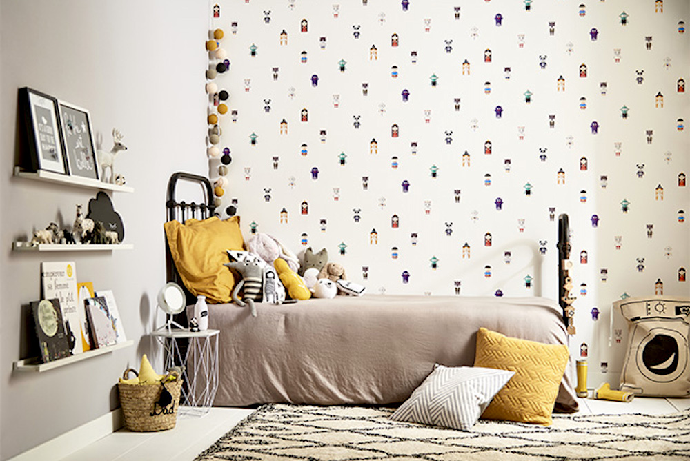 Scan This Interactive Kids' Wallpaper To Reveal A Bedtime Story