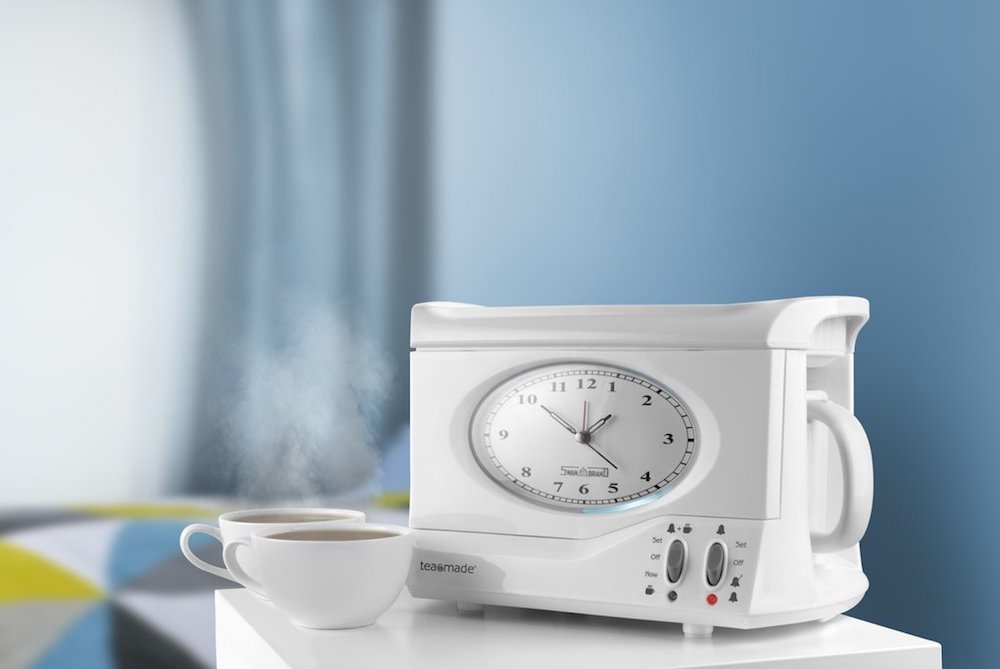 Alarm Clock Brews A Cup Of Tea To Wake You Up