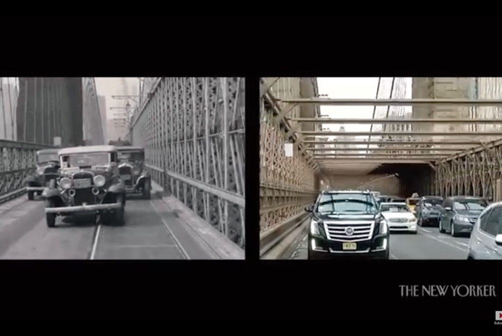 Video Series Juxtaposes 1930's New York With The Present