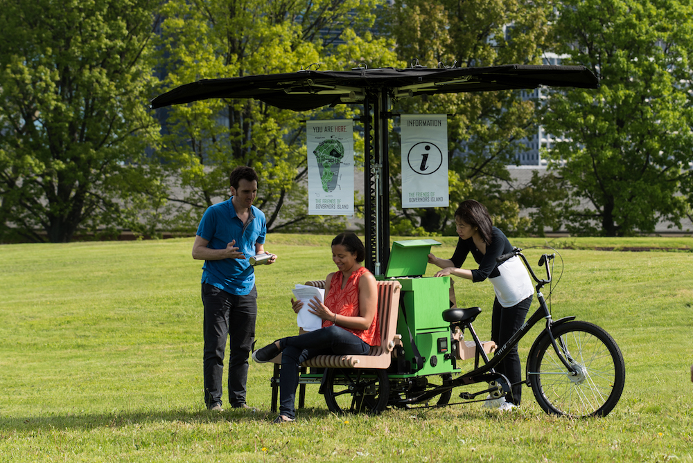Wi-Fi On Wheels Will Come To A New York City Park