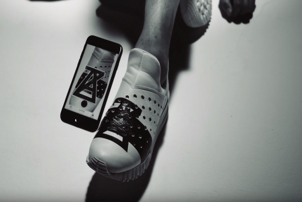 Japanese Brands Created Augmented Reality Sneakers