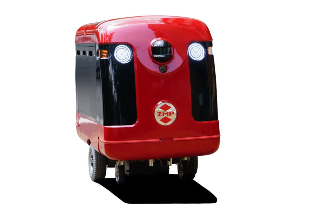 A Sushi Delivering Robot May Soon Be Roaming The Streets Of Japan