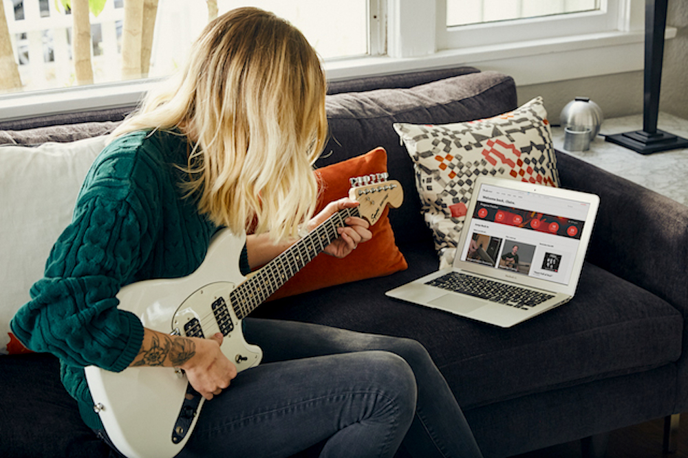 Fender Now Offers Personalized Lessons To Teach Beginners Guitar
