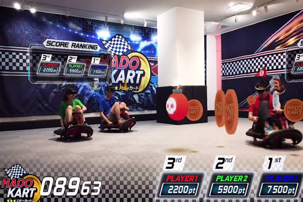 Augmented Reality Arcade Brings Go-Karting To The Next Level