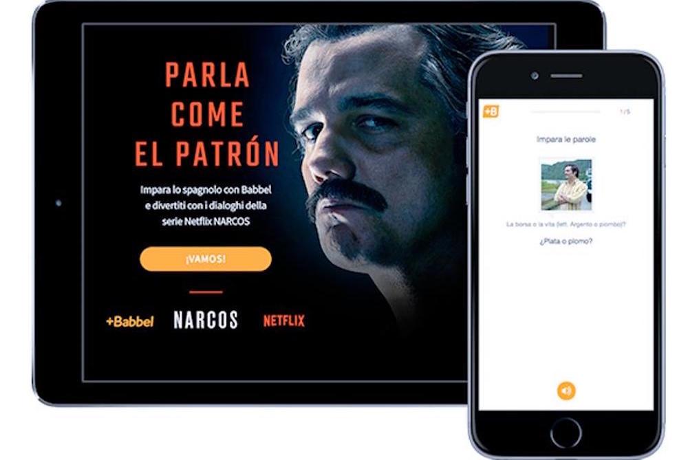 Netflix Campaign Creates 'Narcos'-Themed Spanish Lessons