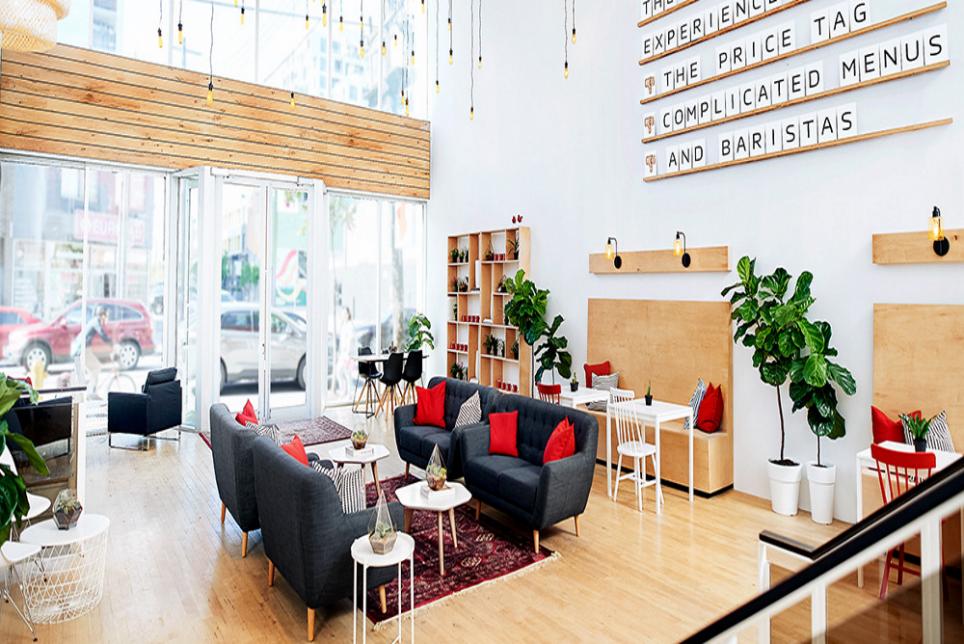 Nescafe Opens A Joke Coffee Shop in Toronto