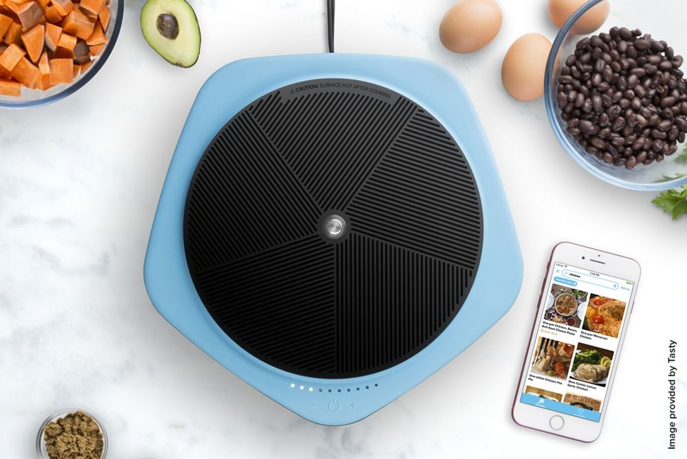 Buzzfeed Made A Connected Hot Plate That Syncs With Viral Cooking Videos