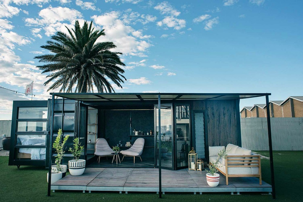 Repurposed Shipping Containers Make Hotel Rooms And More
