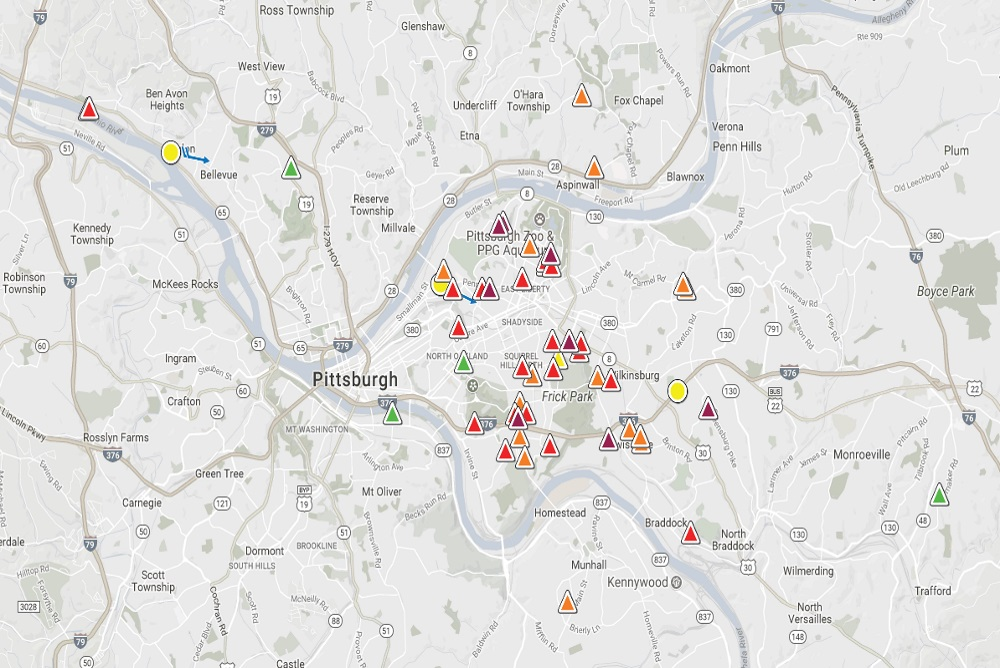 A New Platform In Pittsburgh Lets Citizens Report Foul Smells
