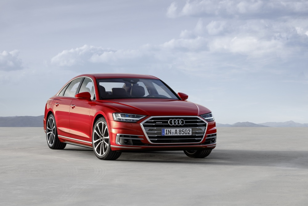 A Semi-Autonomous Audi Will Let Drivers Watch Television At The Wheel