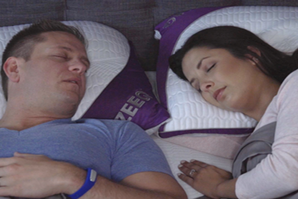 This Pillow Says It Can Stop Snoring, Track Sleep And Improve Sleep Quality