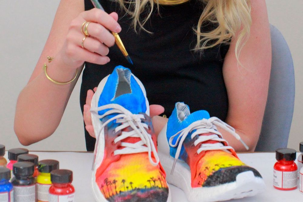 Adidas Asked 50 Women Artists To Create Unique Sneakers For All 50 U.S. States