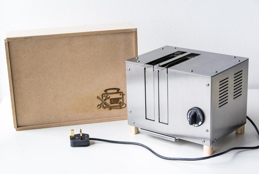 Flat Pack Toaster Offers An Eco-Friendly Approach To Consumer Electronics