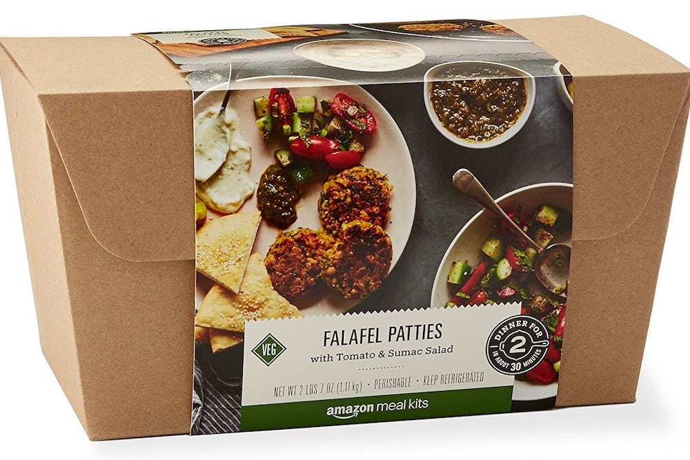 A Look Inside Amazon's New Meal Kit Service