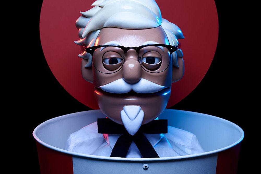 Robot Colonel Sanders Takes KFC Drive-Thru Orders