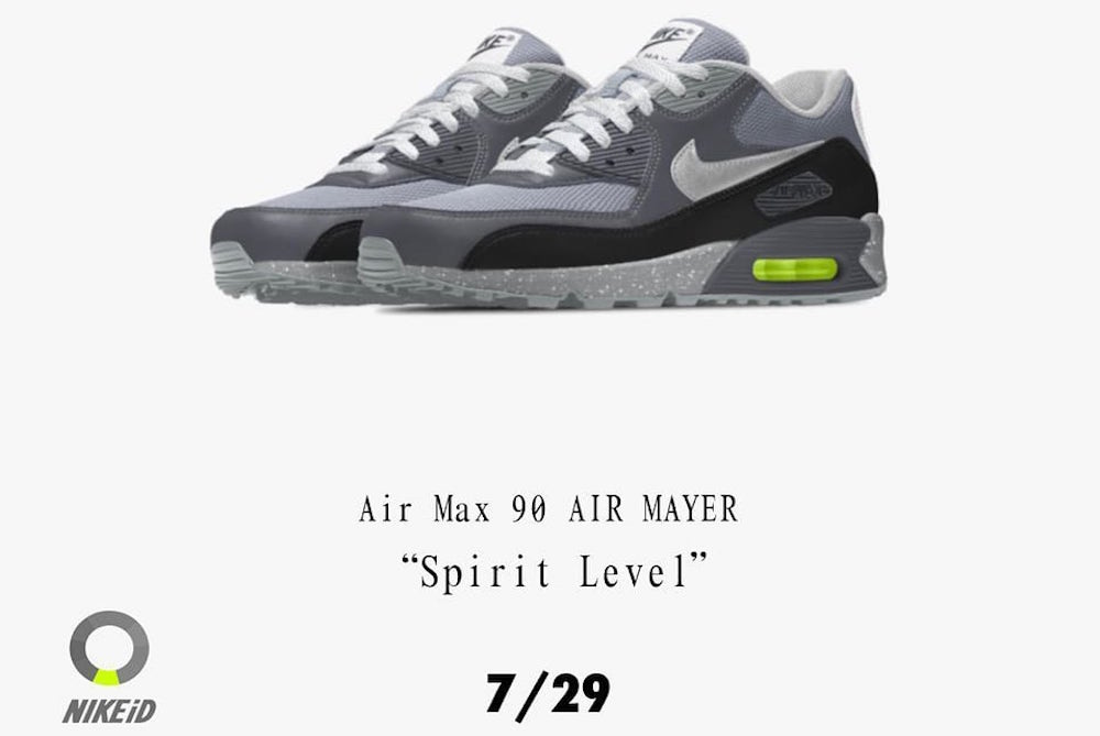 Nike And John Mayer Are Unofficially Collaborating On Custom Shoes