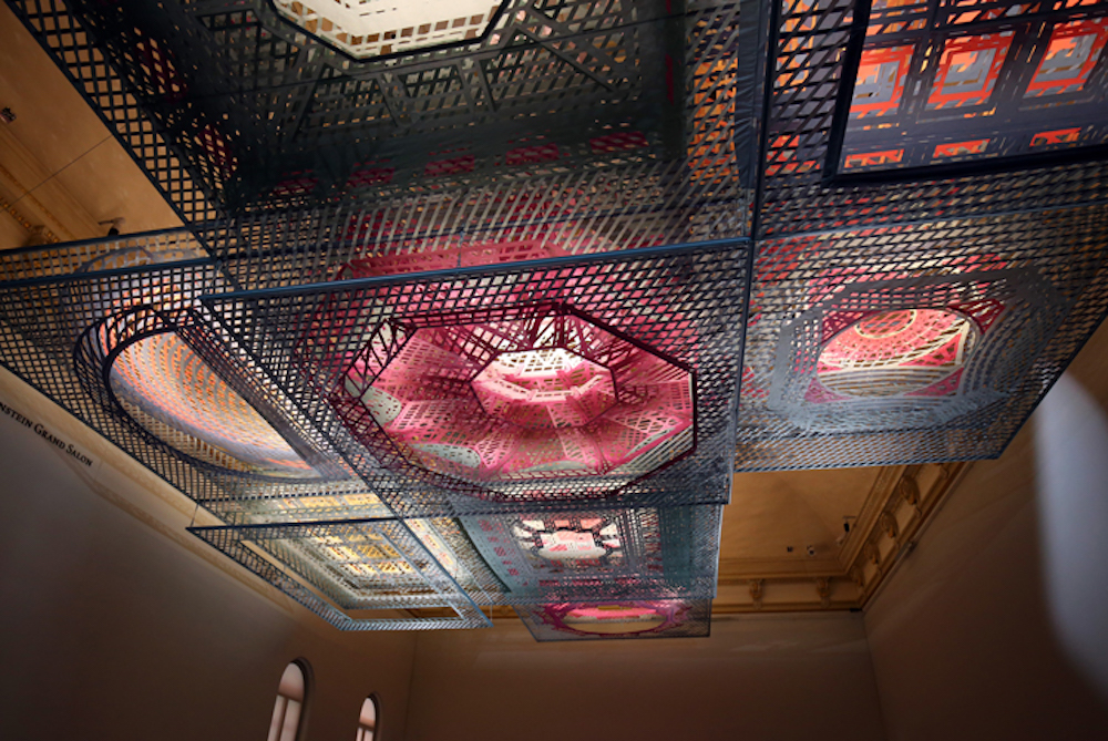 Mind-Bending Installation Blends Art And Architecture At Renwick Gallery