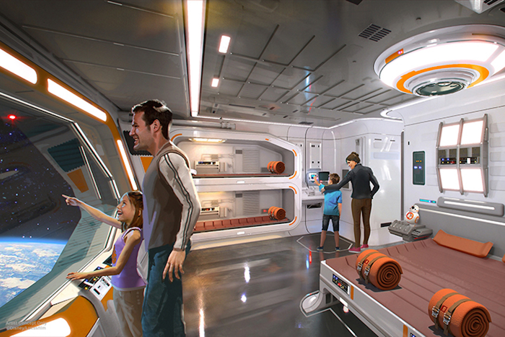 Disney Is Opening A Star Wars Hotel Where Guests Can Become Part Of The Story