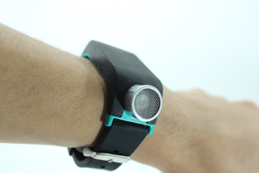 This Wristband Helps The Visually Impaired Navigate With Sonar Technology