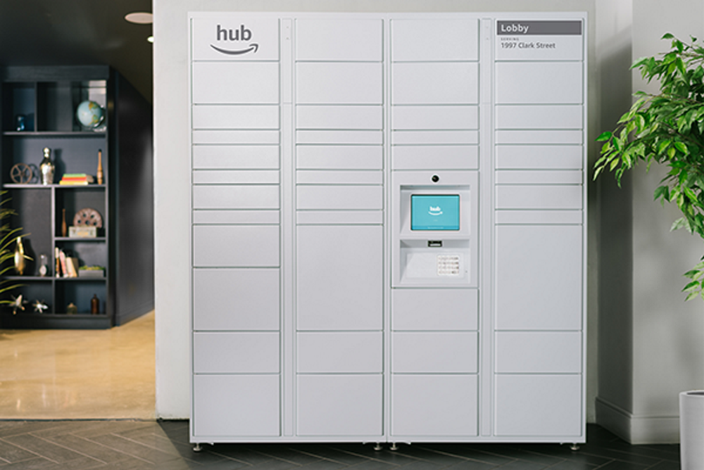 Amazon Is Deploying Locker-Based Delivery System For Apartment Buildings