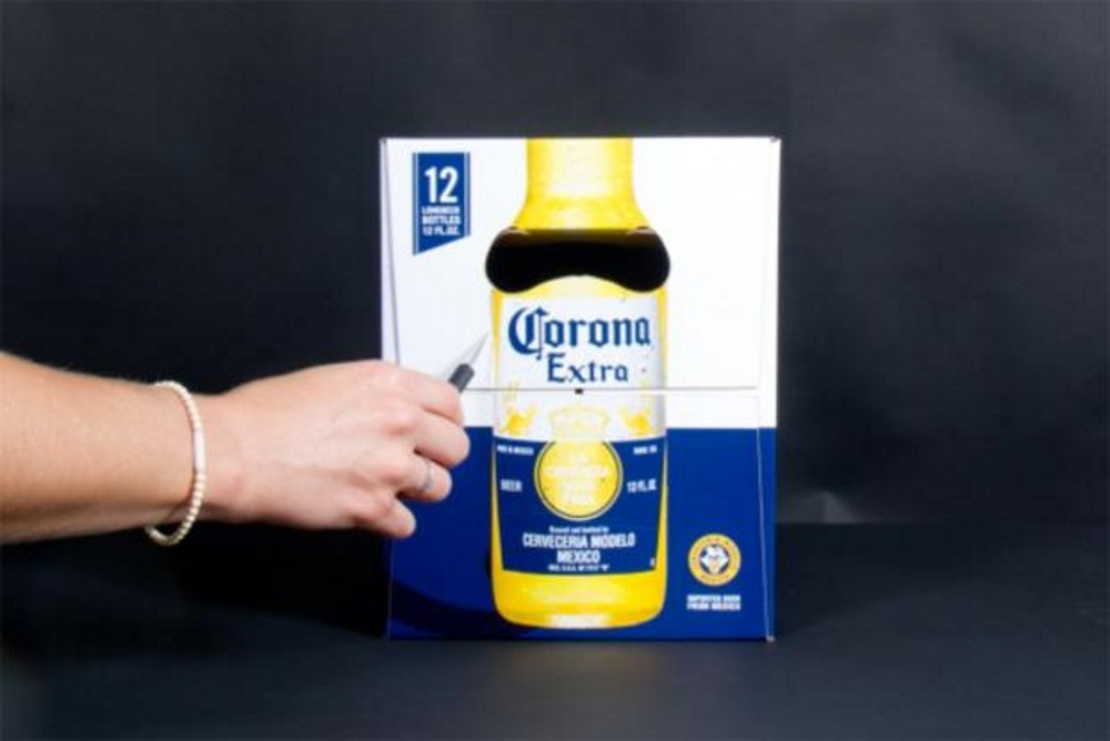 Corona Issues A Handy Guide To Turn A 12-Pack Box Into An Eclipse Viewer