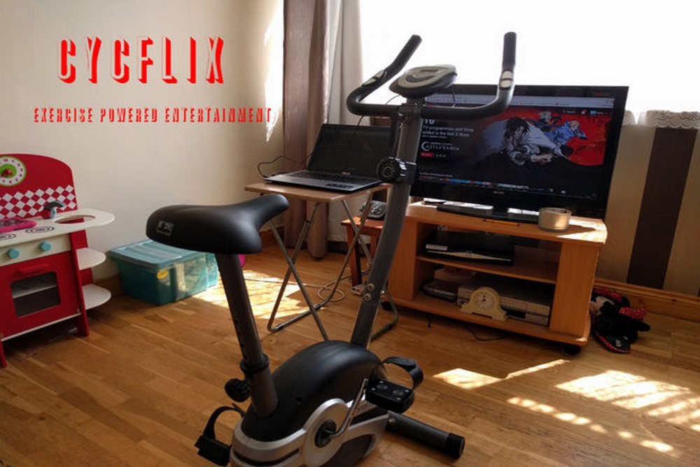 Exercise Bike Only Lets You Watch Netflix When You're Pedaling