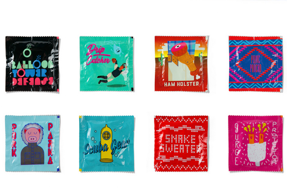 Teen Focus Groups Helped Design These Hilariously-Named Condoms