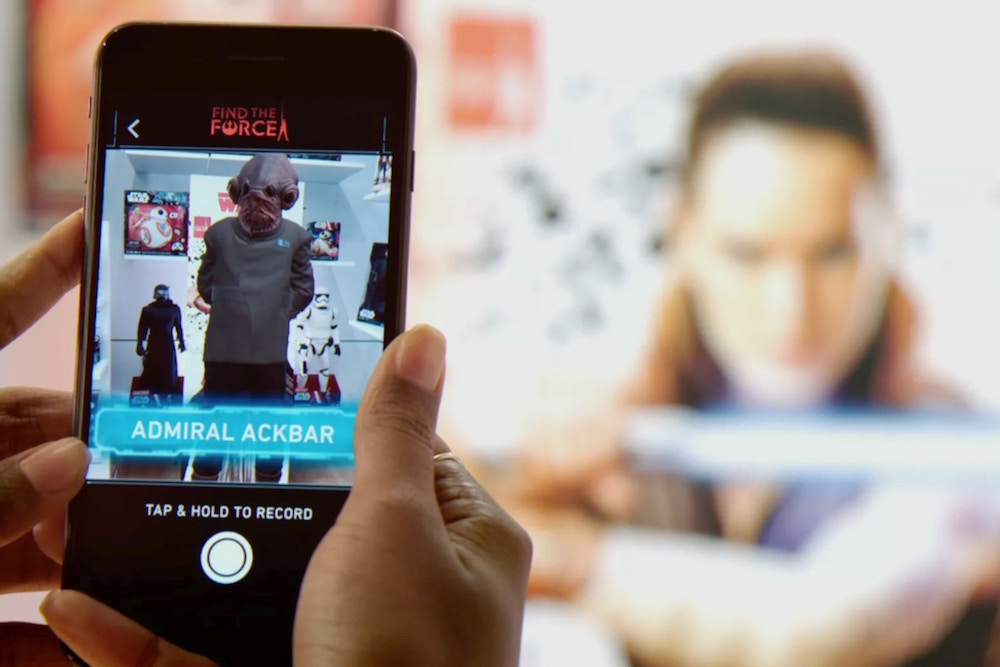 Star Wars Launches Augmented Reality Scavenger Hunt To Promote New Film