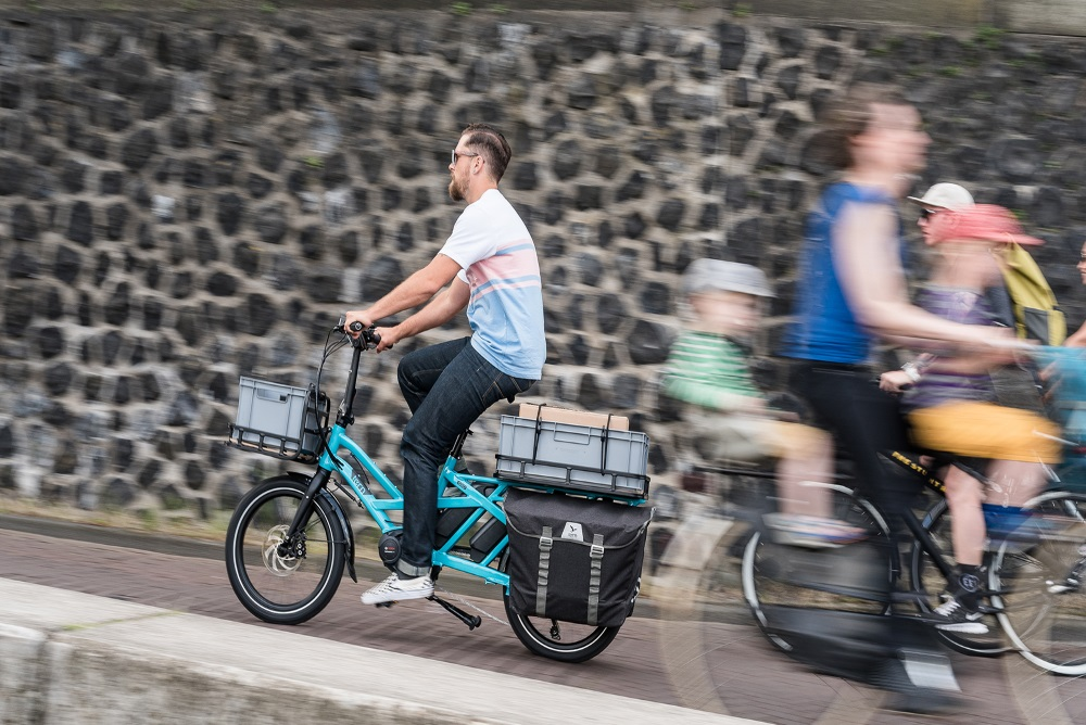 Electric Bicycle Can Hold 400 Pounds Of Cargo And Fit In The Back Of A Van
