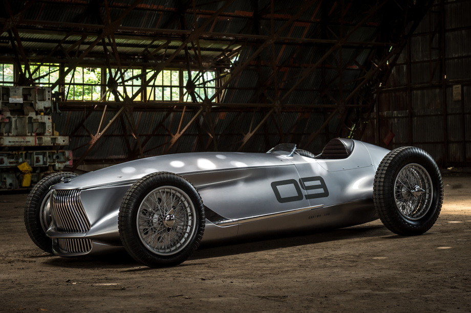 INFINITI Creates An Electric Race Car For A Hypothetical Past