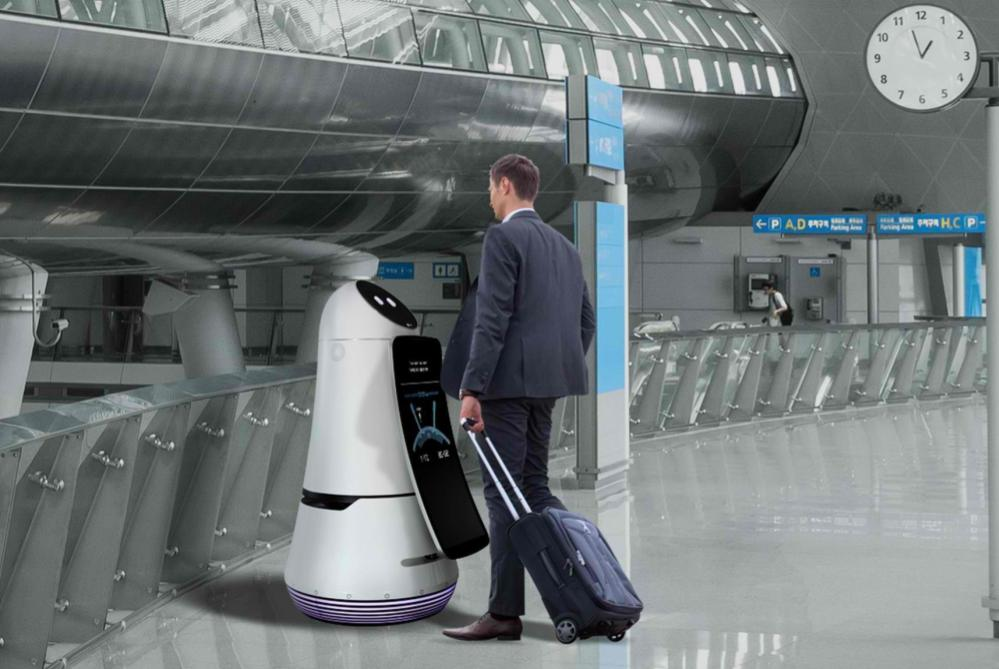 LG's Friendly Robots Will Help Travelers Through Seoul's Airport