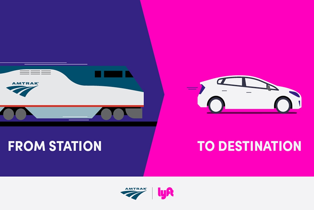 Amtrak Partners With Lyft For First And Last Mile Trip Service