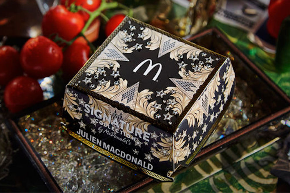 McDonald's Gets Couture Packaging From Famous Designer