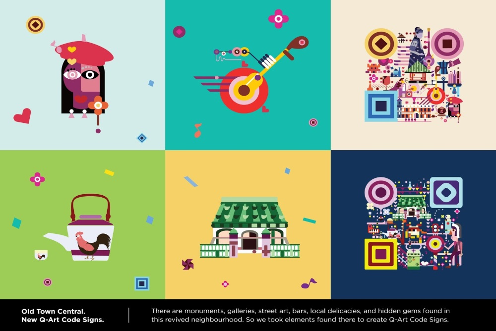 Art-Inspired QR Codes Let Tourists Lead Their Own Self-Guide Tours Of Hong Kong