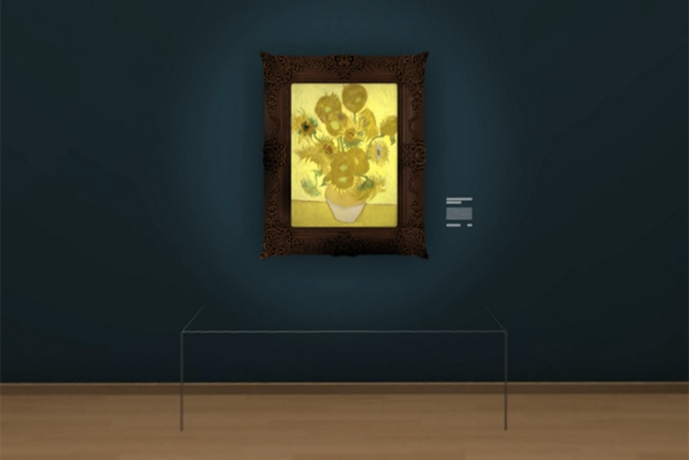 Facebook Created A Virtual 360 Exhibit Featuring Van Gogh's Sunflowers