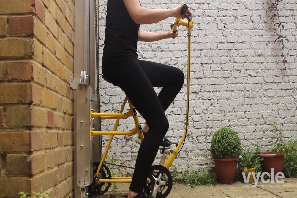 Bike-Powered Elevator Takes Commuting To The Next Level