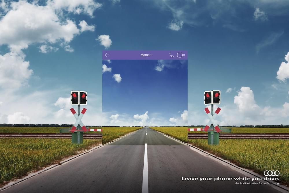 Audi Campaign Illustrates Just How Much Phones Contribute To Distracted Driving