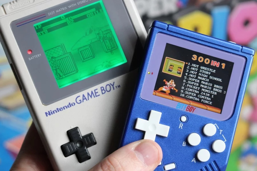 Retro Pocket Console Recreates The Feel Of A Classic Game Boy