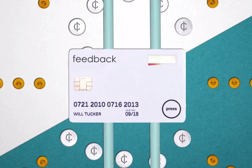 This Card Keeps Track Of Your Finances With The Press Of A Button