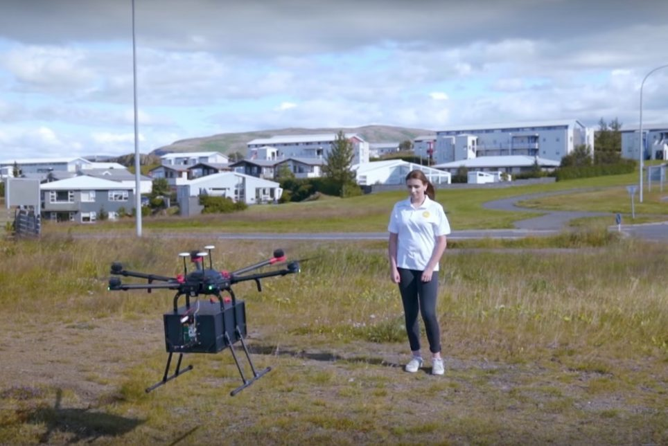 Autonomous Drone Makes Its First Deliveries In Iceland
