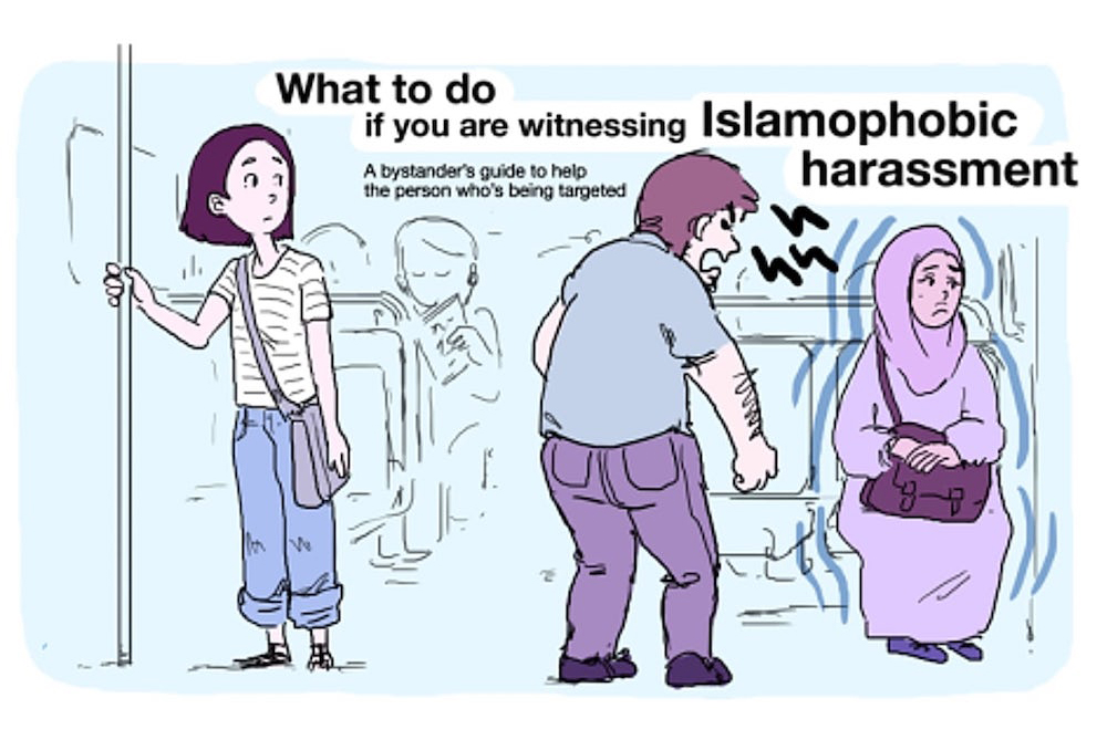 Boston Will Fight Islamophobia On Public Transit With A Viral Cartoon
