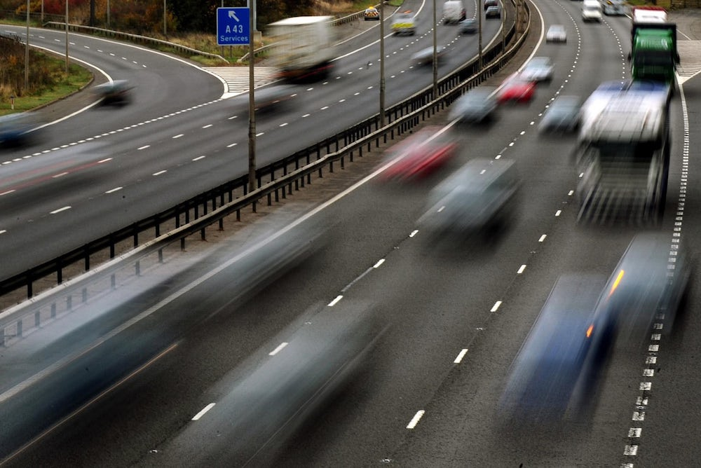 Roads Could Be Covered With 'Tunnels' To Absorb Pollution