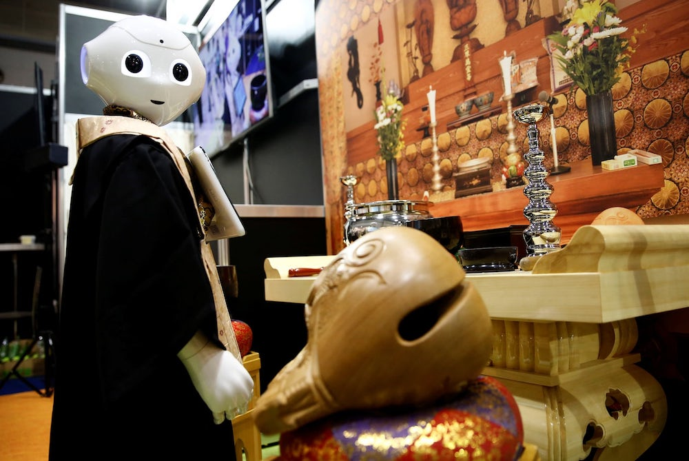 Robot Priest Launched To Undercut Human-Led Rites