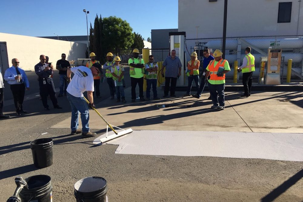 Los Angeles Is Testing A Special Paint To Cool Down City Streets