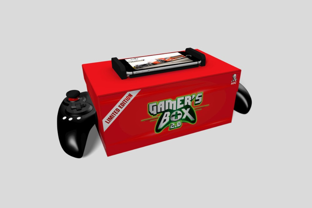 KFC Turned A To-Go Box Into A Bluetooth Game Controller