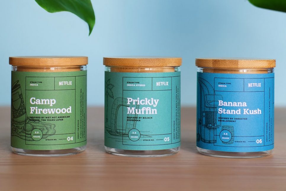 Netflix Sells Marijuana Strains Inspired By Its Original Series