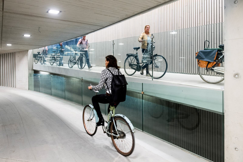 A New Bicycle Parking Garage In The Netherlands Is The Largest In The World