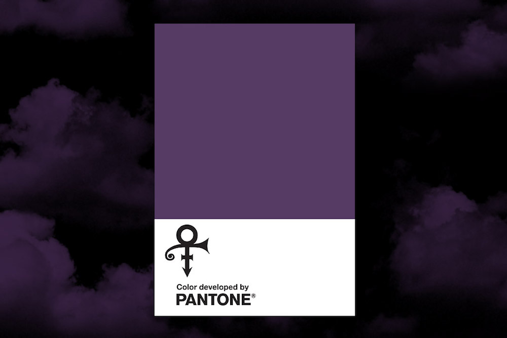 Pantone Honors Prince With His Own Shade Of Purple